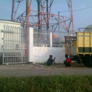 ADS Tiba di Site Sukasirna Cianjur Pagi Ini - Delivery ZTE Matl - 12 July 2011